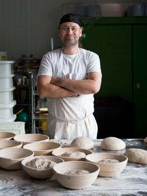 Meet London doughnut (and bread) maestro Justin Gellatly