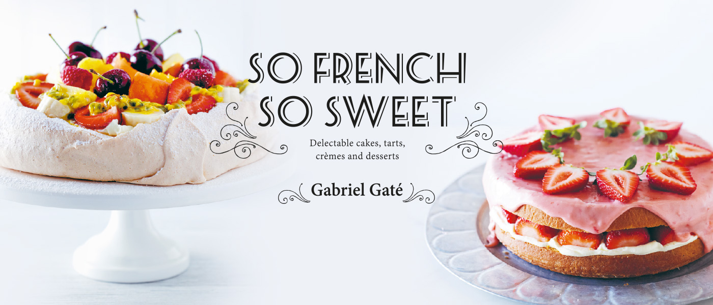 So French So Sweet Homepage Banner