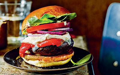 A Veggie Burger for National Burger Day
