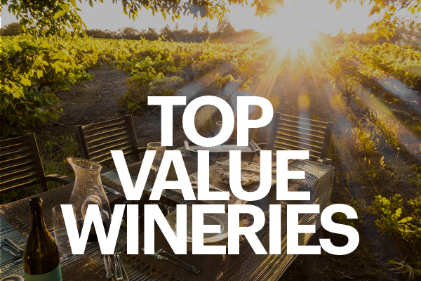 Top Value Wineries
