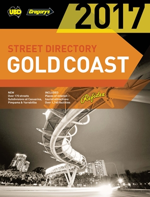 2017 Gold Coast Refidex Street Directory 19th ed