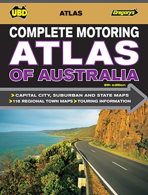 Complete Motoring Atlas of Australia 8th ed