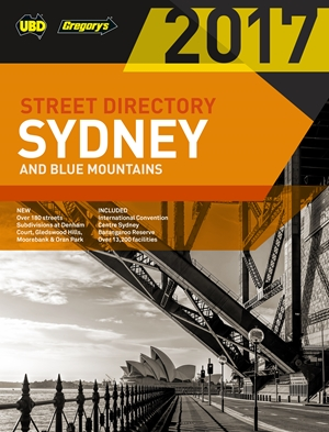 Sydney & Blue Mountains Street Directory 2017 53rd ed