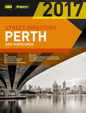 Perth Street Directory 2017 59th ed