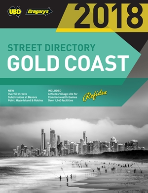 Gold Coast Refidex Street Directory 2018 20th ed
