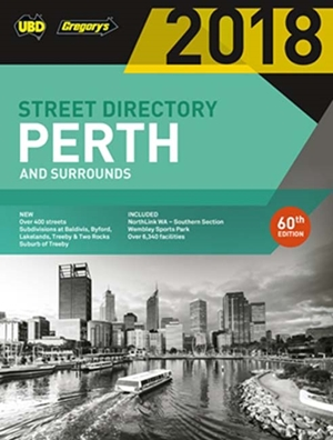 Perth Street Directory 2018 60th ed
