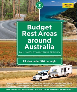Budget Rest Areas Around Australia 3rd ed