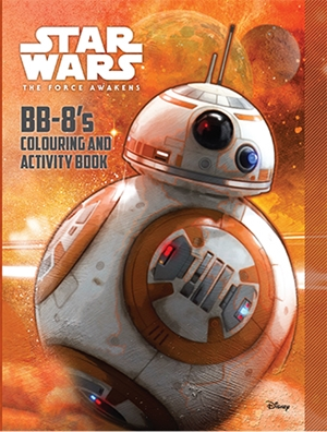 Star Wars Episode VII: BB-8's Colouring Book