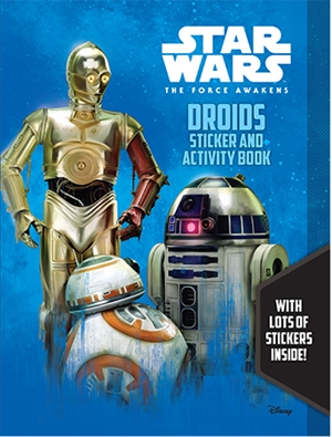 Star Wars Episode VII: Droids Sticker Book