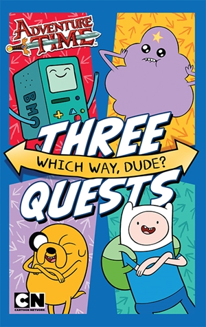Adventure Time: Which Way, Dude bind-up