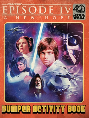 A New Hope Retro Bumper Book 40th Anniversary