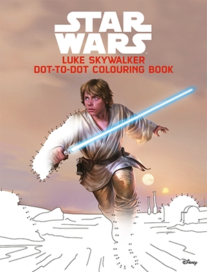Luke Skywalker Dot-do-Dot Colouring and Activity Book