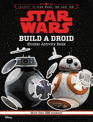 Build a Droid Sticker Book