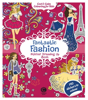 Fantastic Fashion Sticker Dressing Up Book