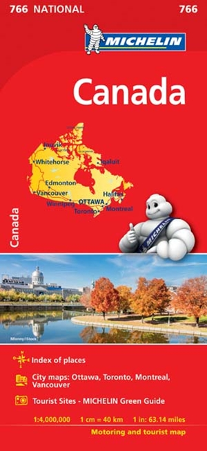 Michelin Canada Map 2017