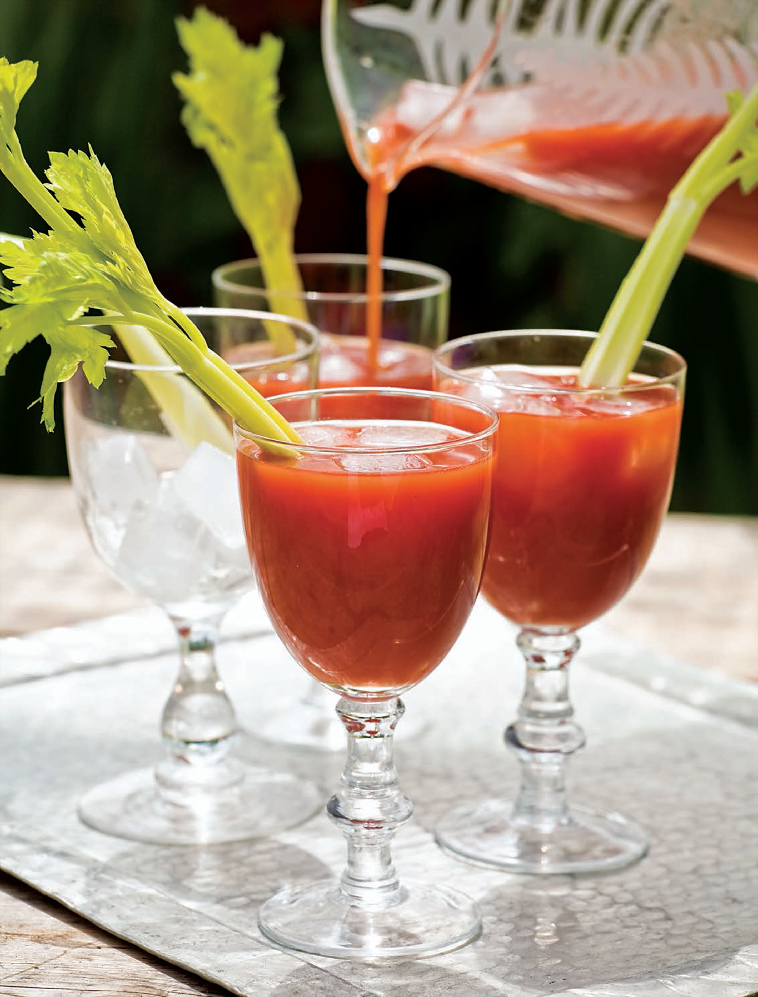 Bloody Mary with horseradish