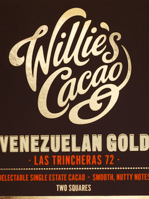 The wonderful world of Willie's cacao