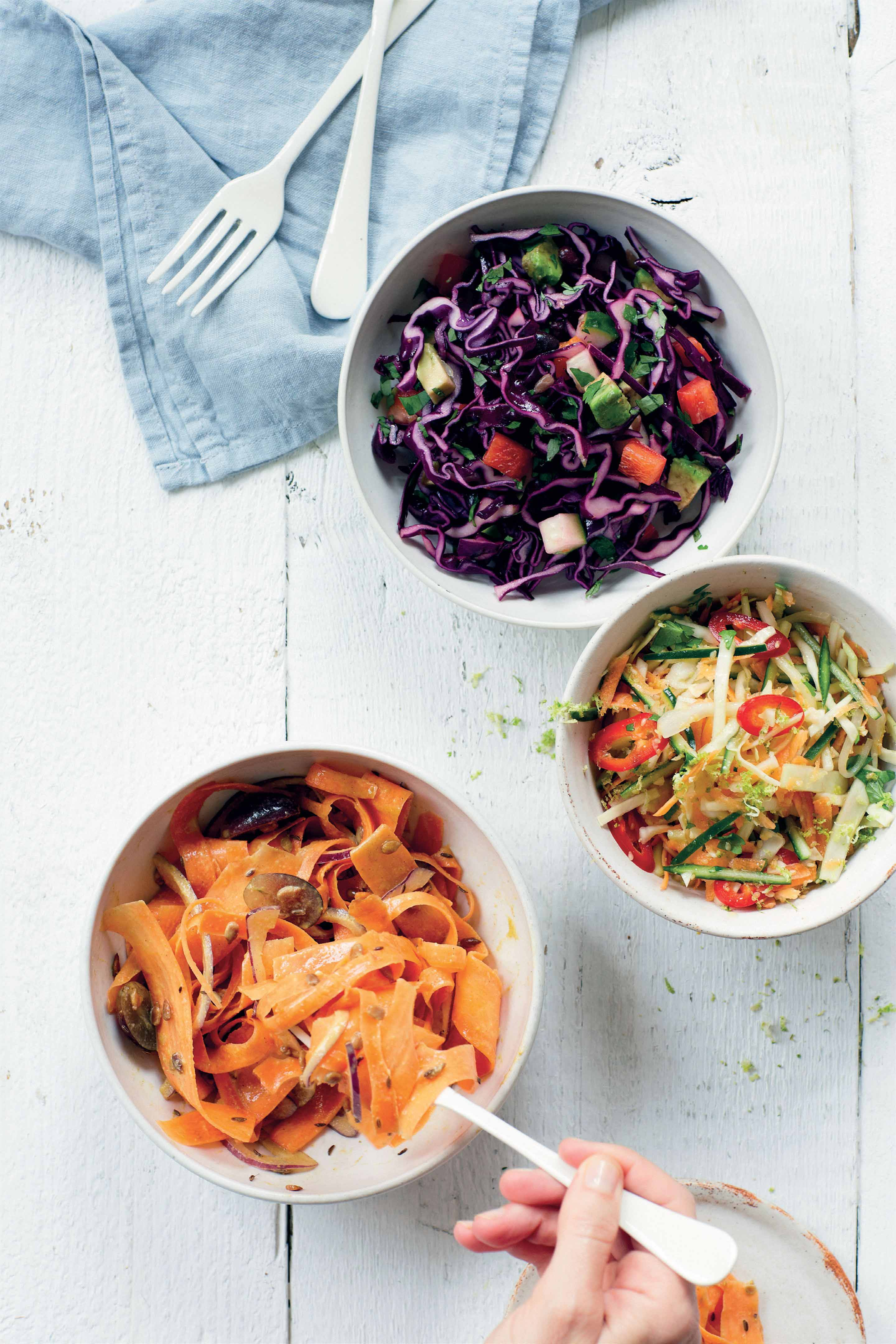 Jemima's Asian slaw salad