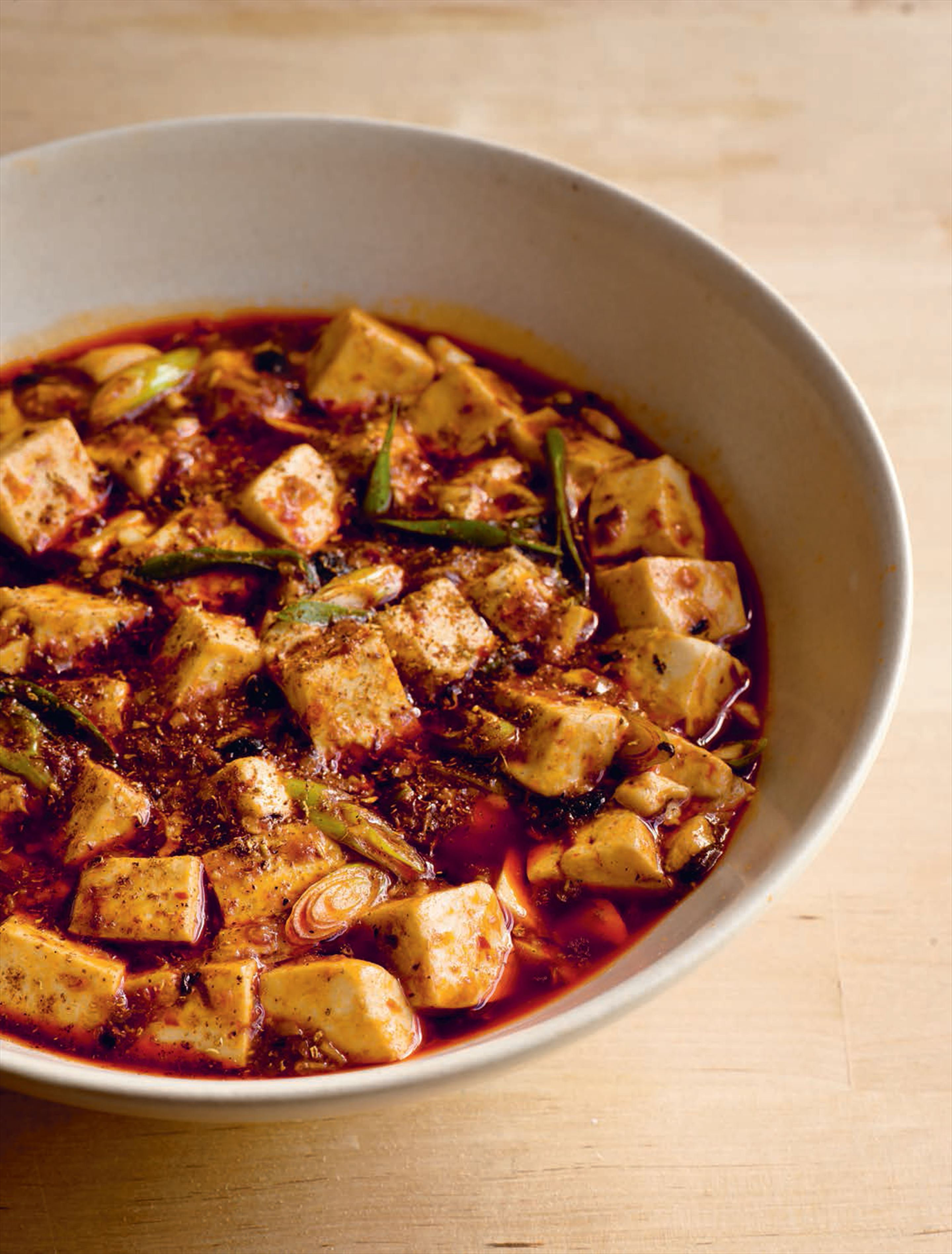 Pock-marked old woman's tofu (vegetarian version)