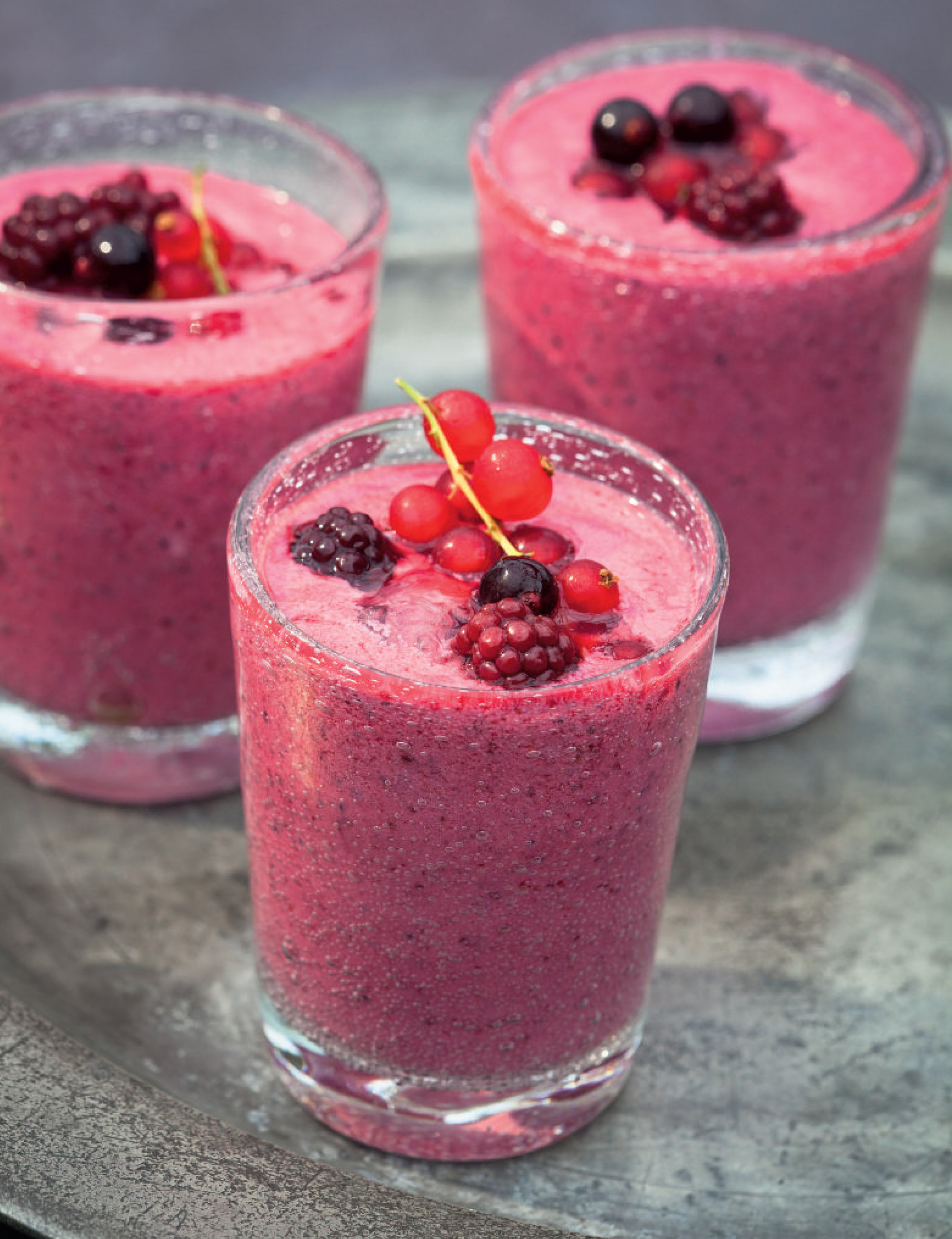 Protein berry smoothie