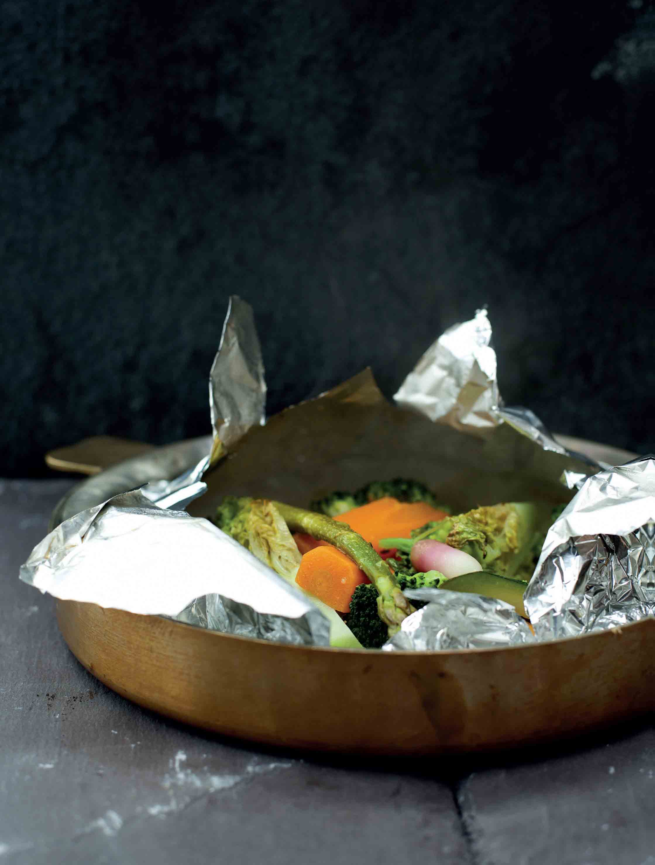 Vegetable papillote