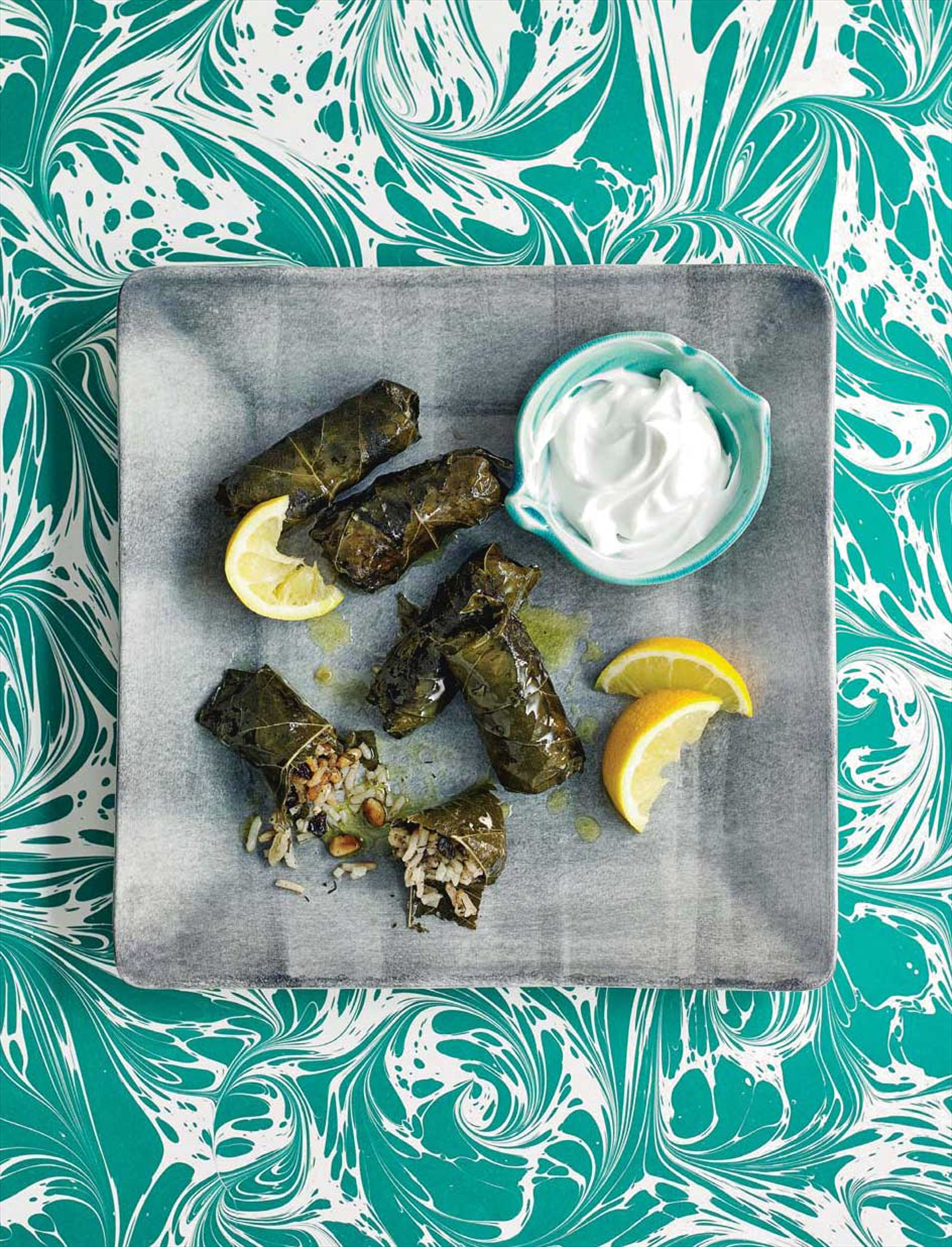 Stuffed vine leaves