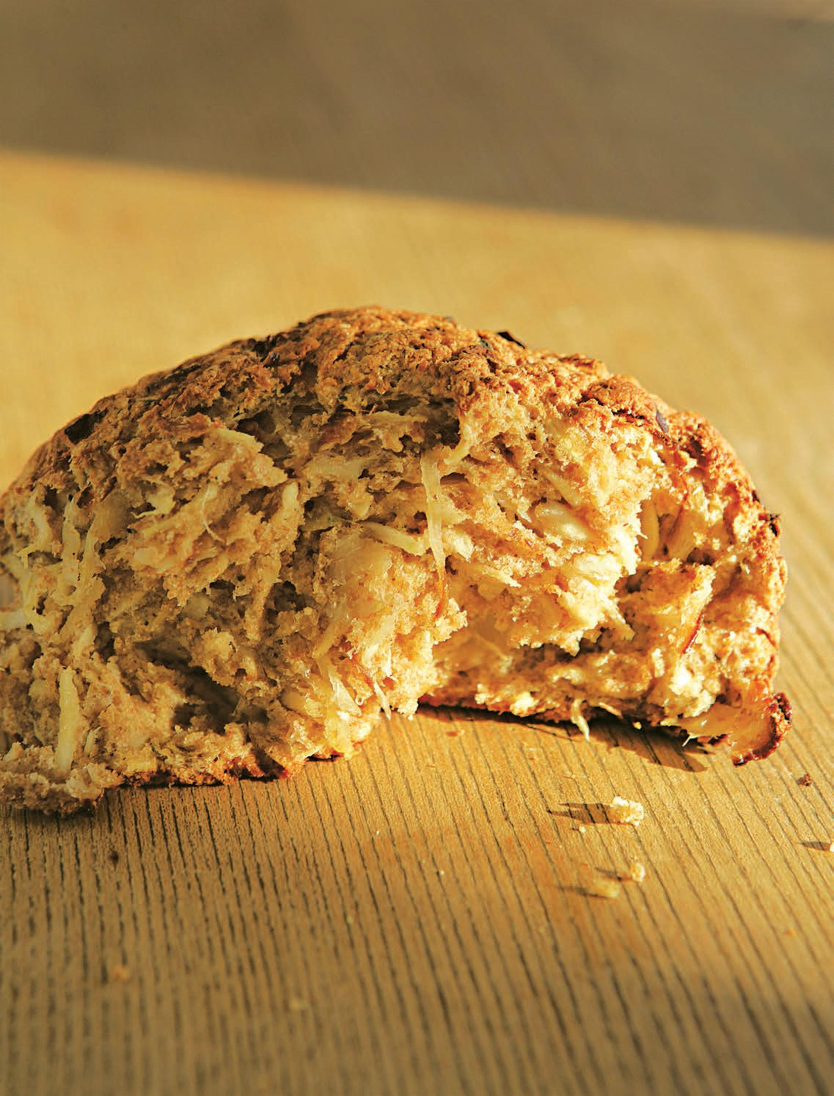 Parsnip and thyme bread