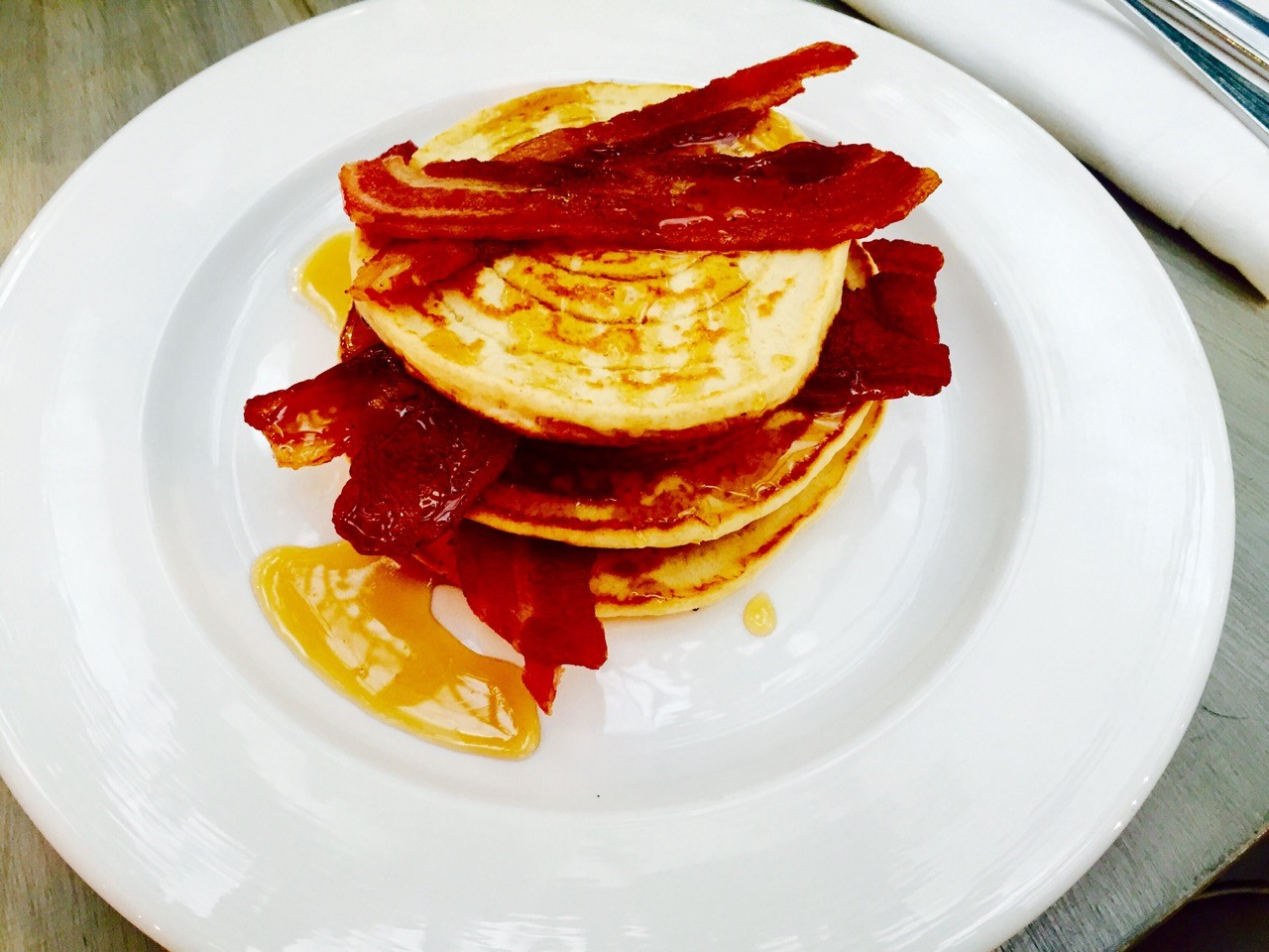We went. We ate. We cooked: Blixen's maple pancakes