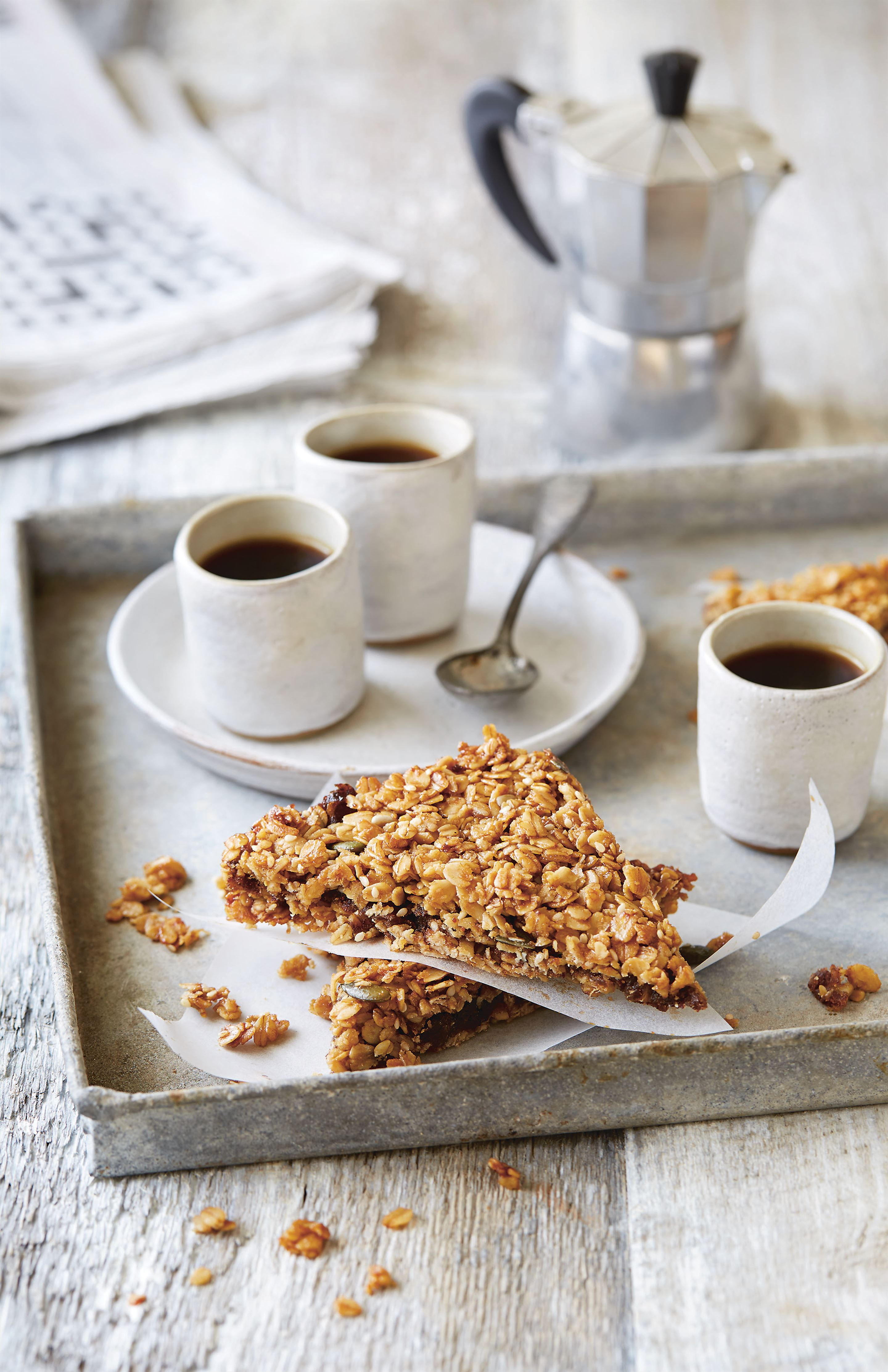 Cereal date flapjacks