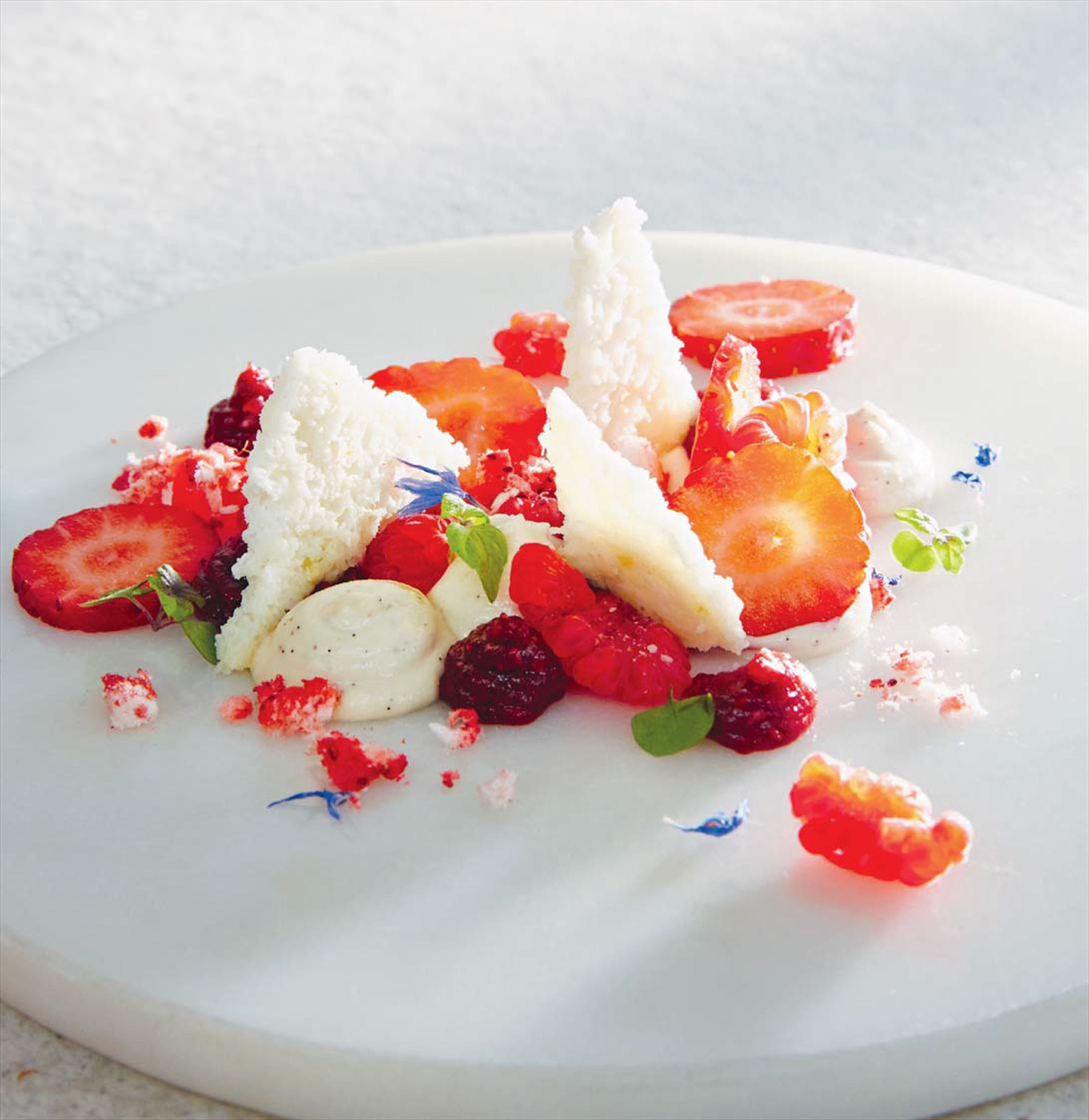 Deconstructed eton mess