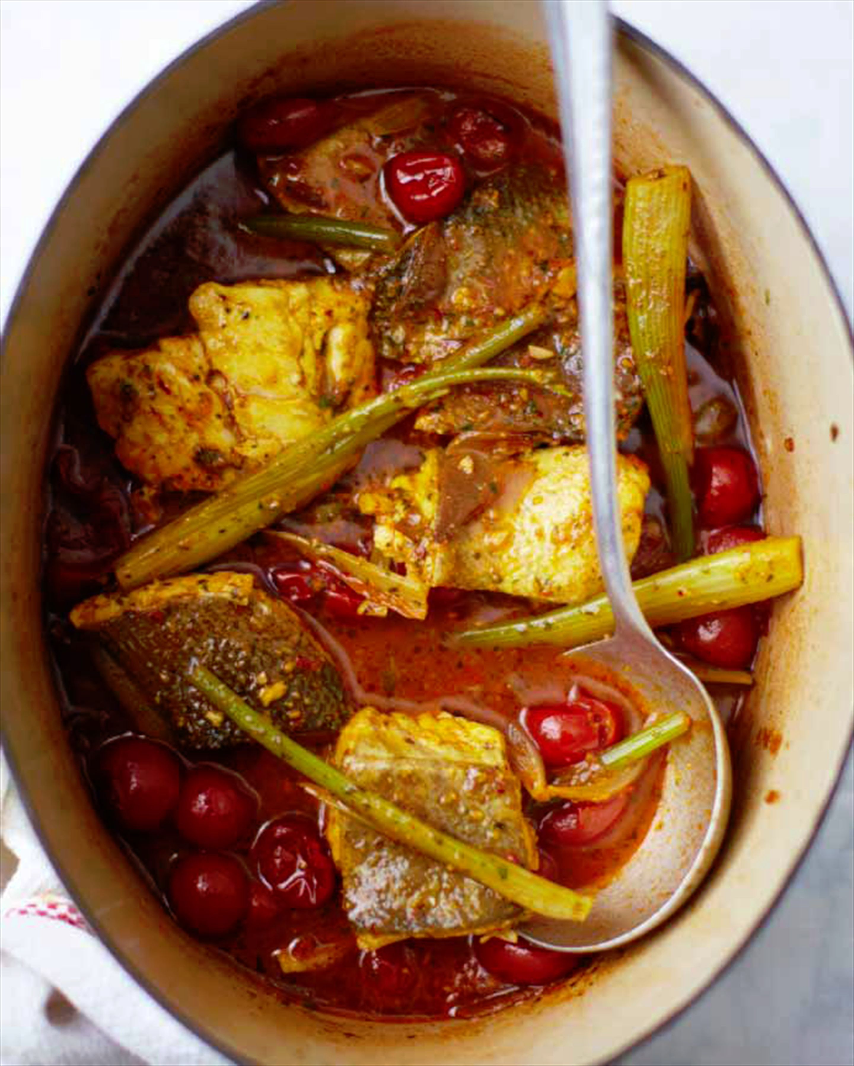 Fish & fennel tagine