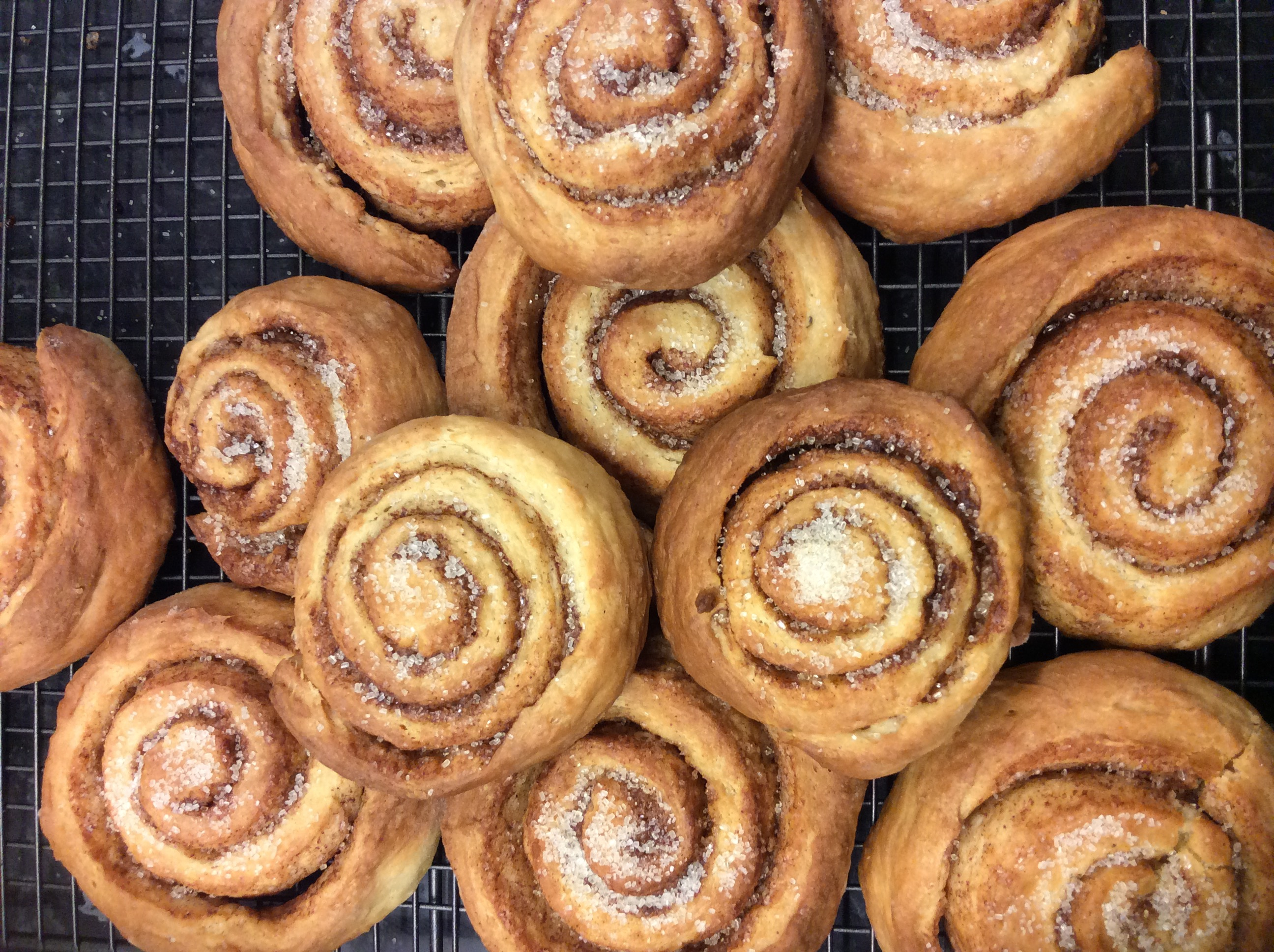 Perfect recipes: cinnamon buns