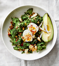 The weekend special: a clean-green brunch menu