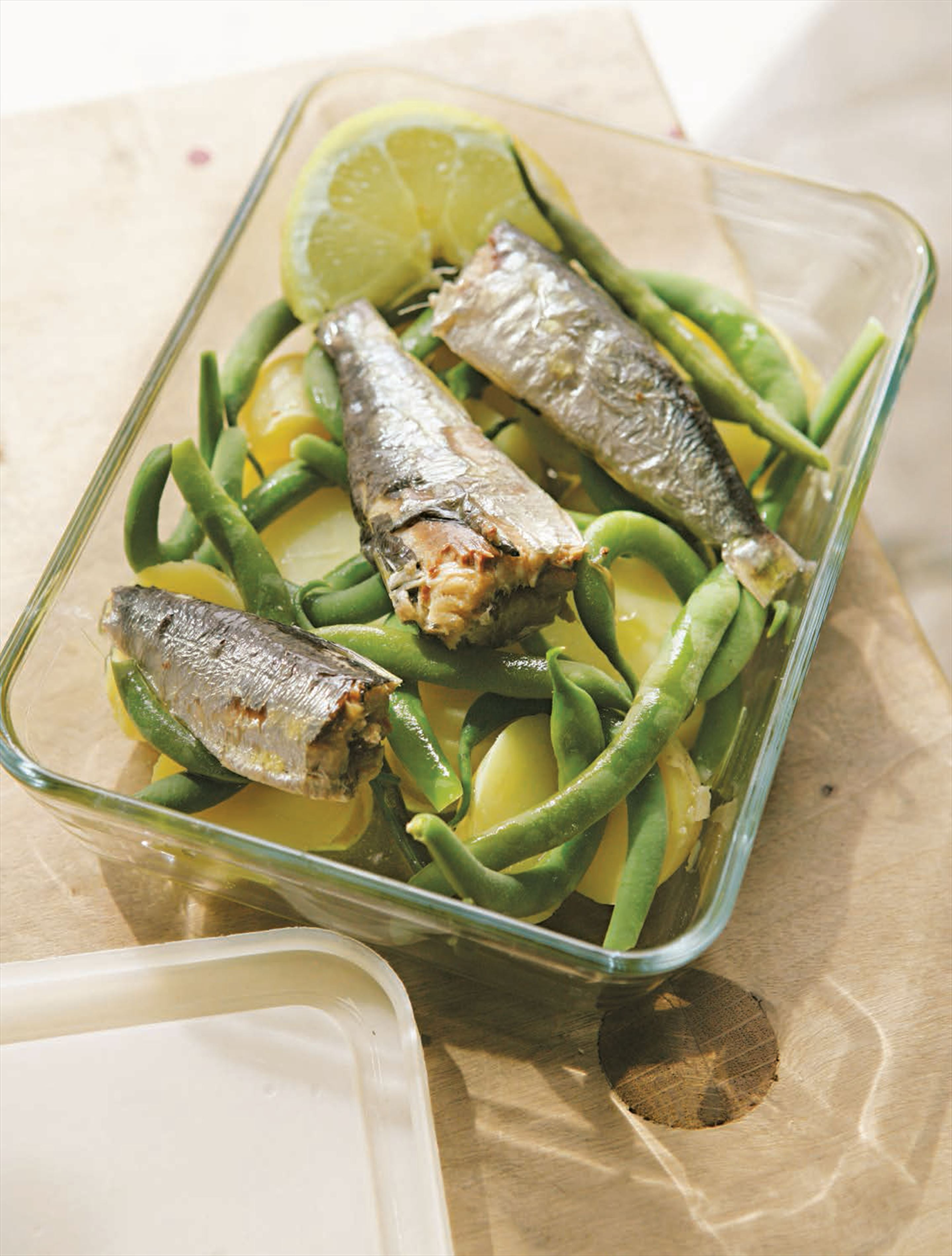 Sardine niçoise lunch(box)