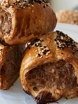 The best sausage rolls for your picnic