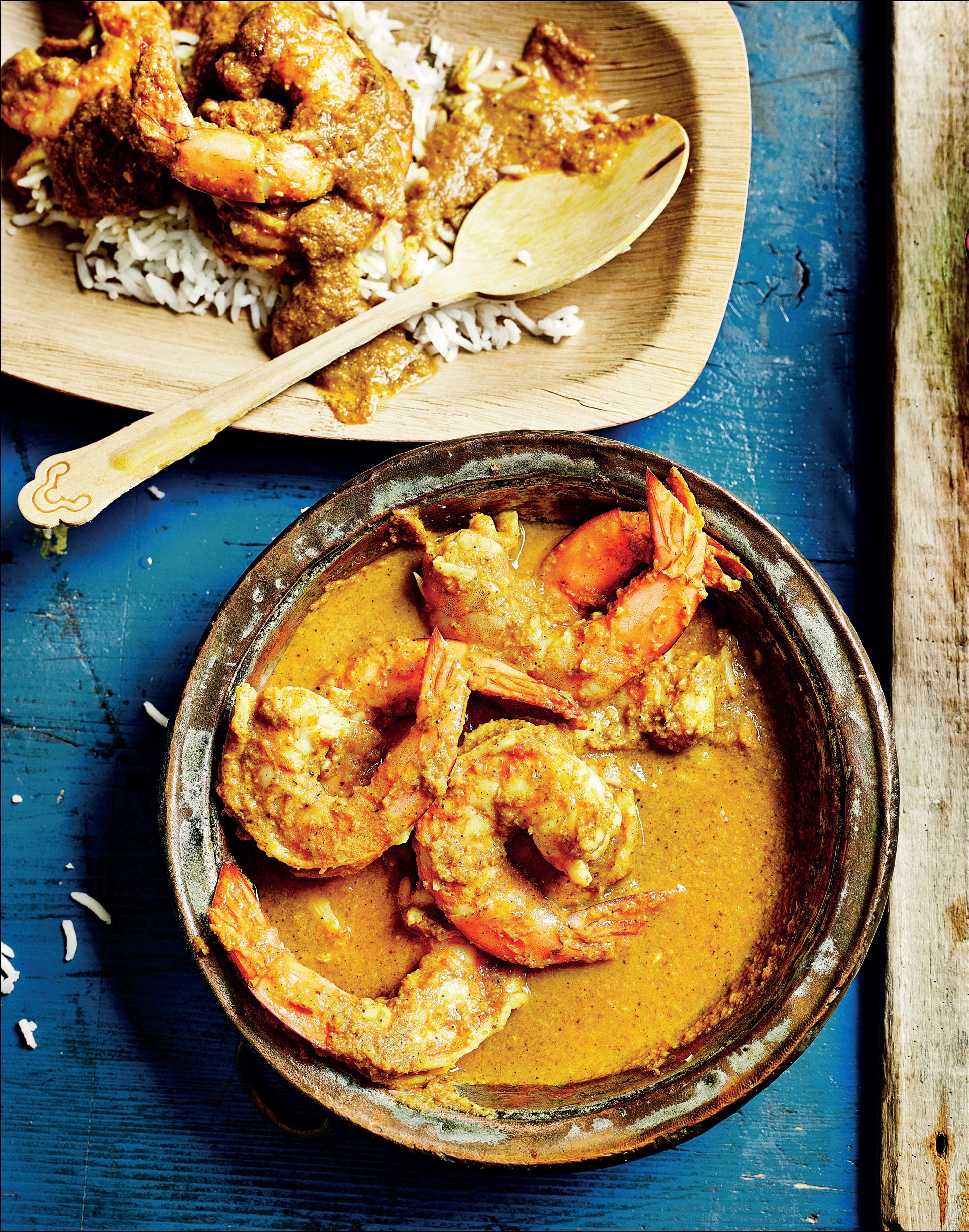 Mangalorean prawn ghassi