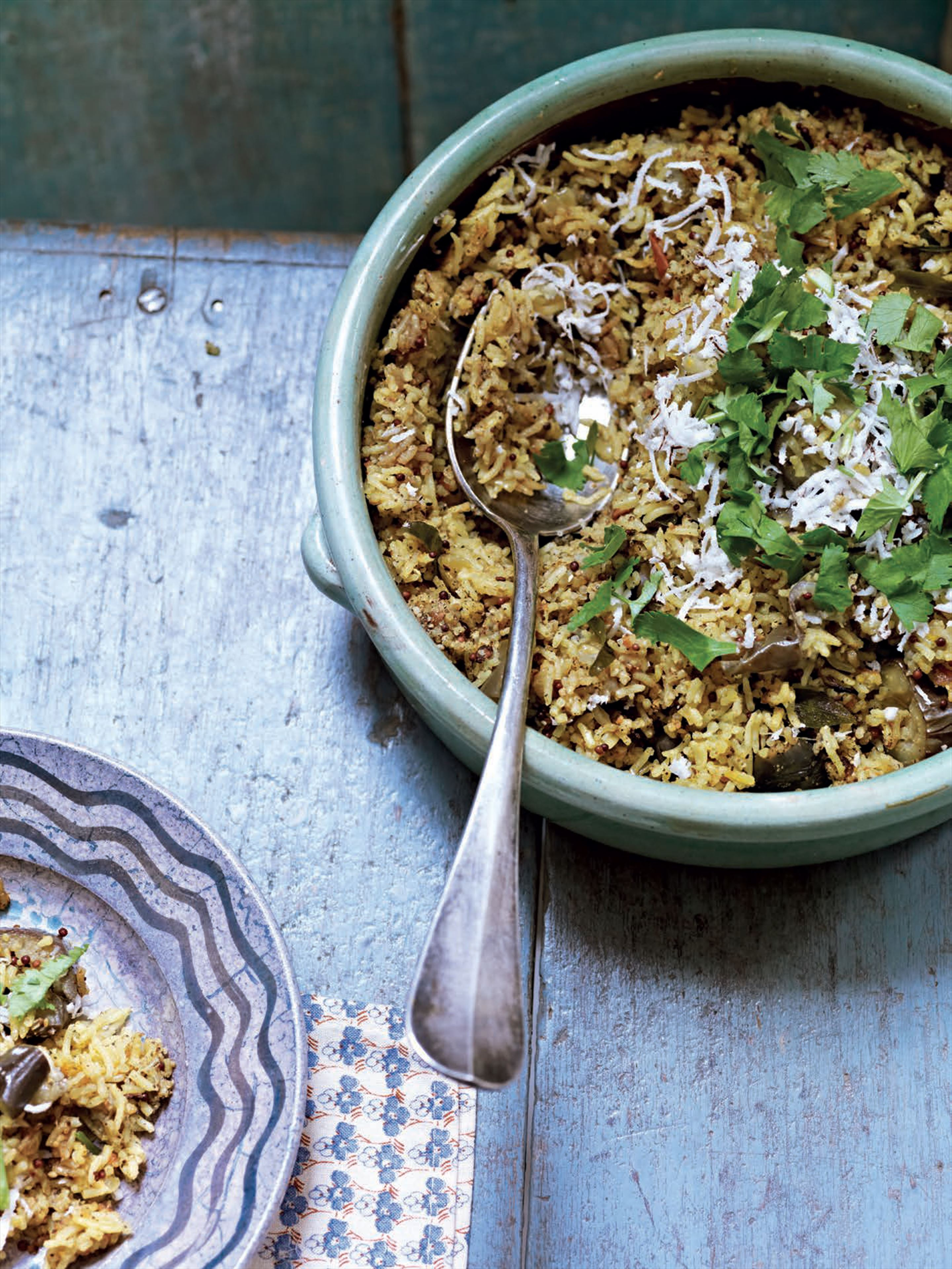 Elegant vegetable biryani