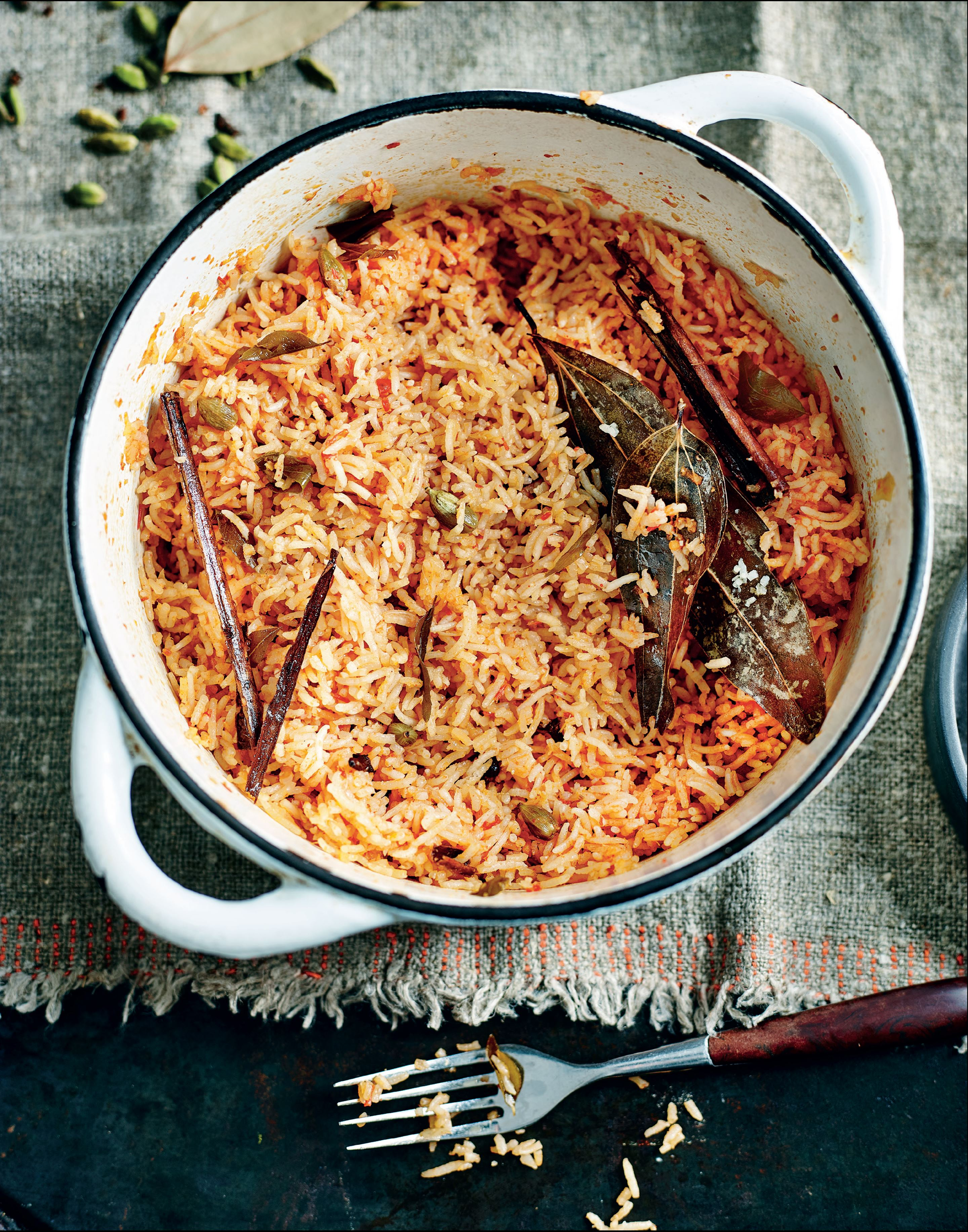 Spiced Andhra tomato rice