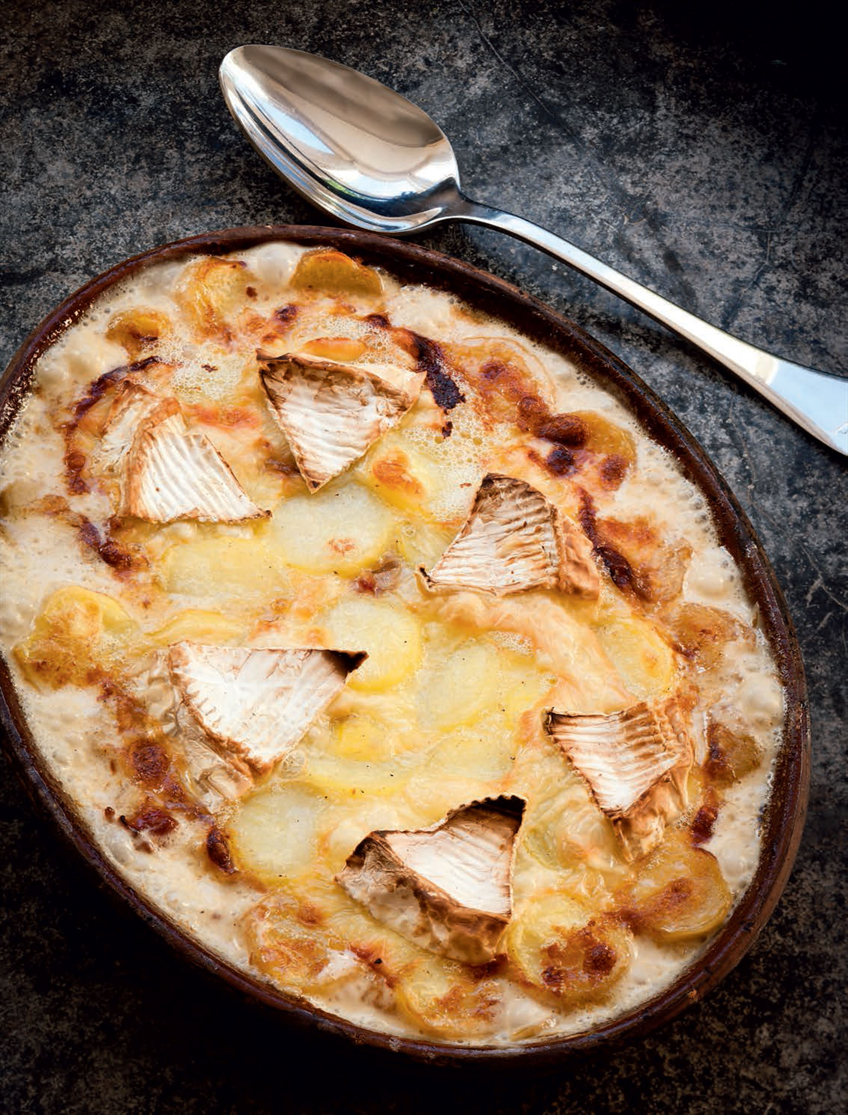 My salute to the tartiflette of my youth