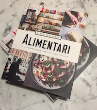 Inside the Alimentari book launch