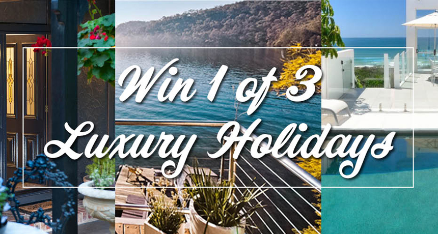 win 1 of 3 luxury escapes