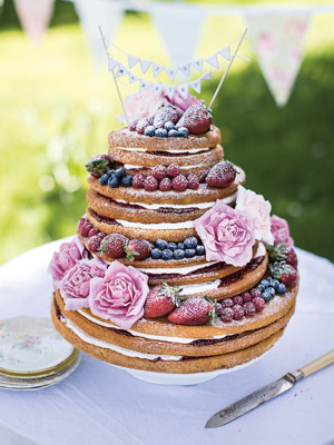 Beautiful wedding cakes you can make yourself