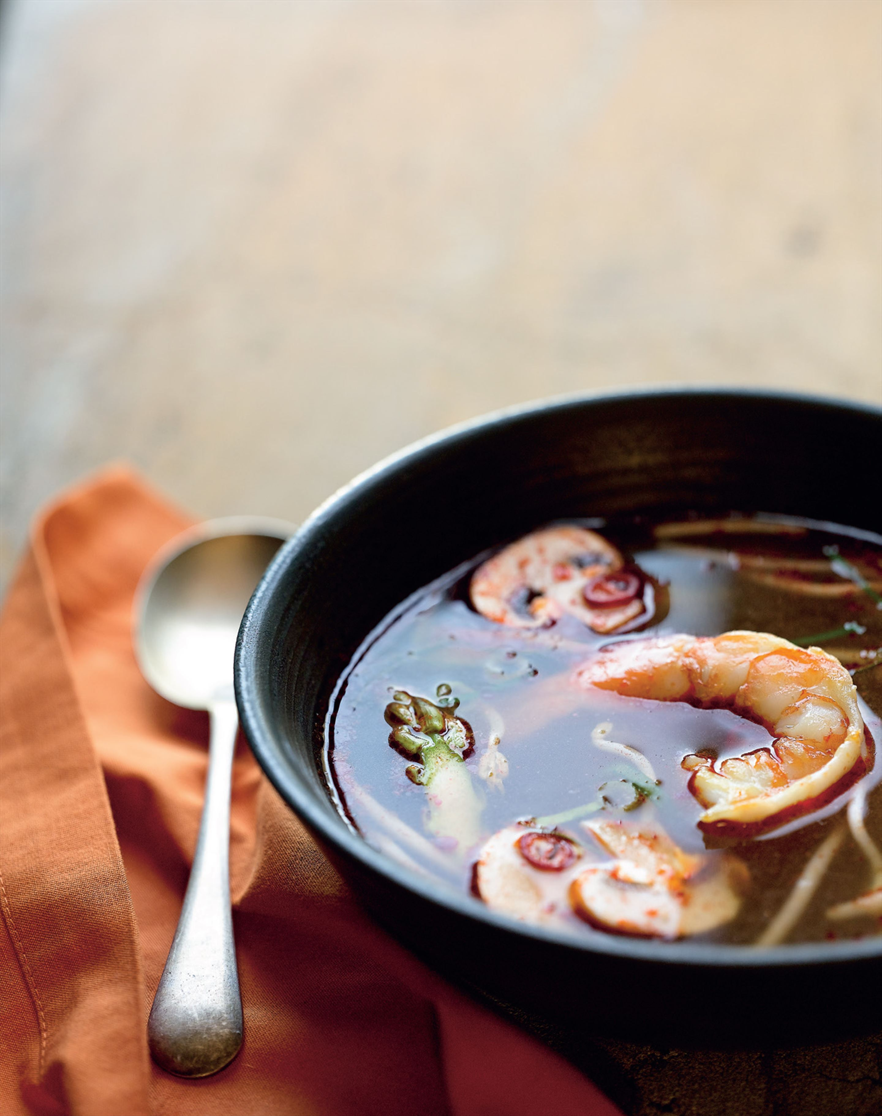 Tom yum soup in a flash