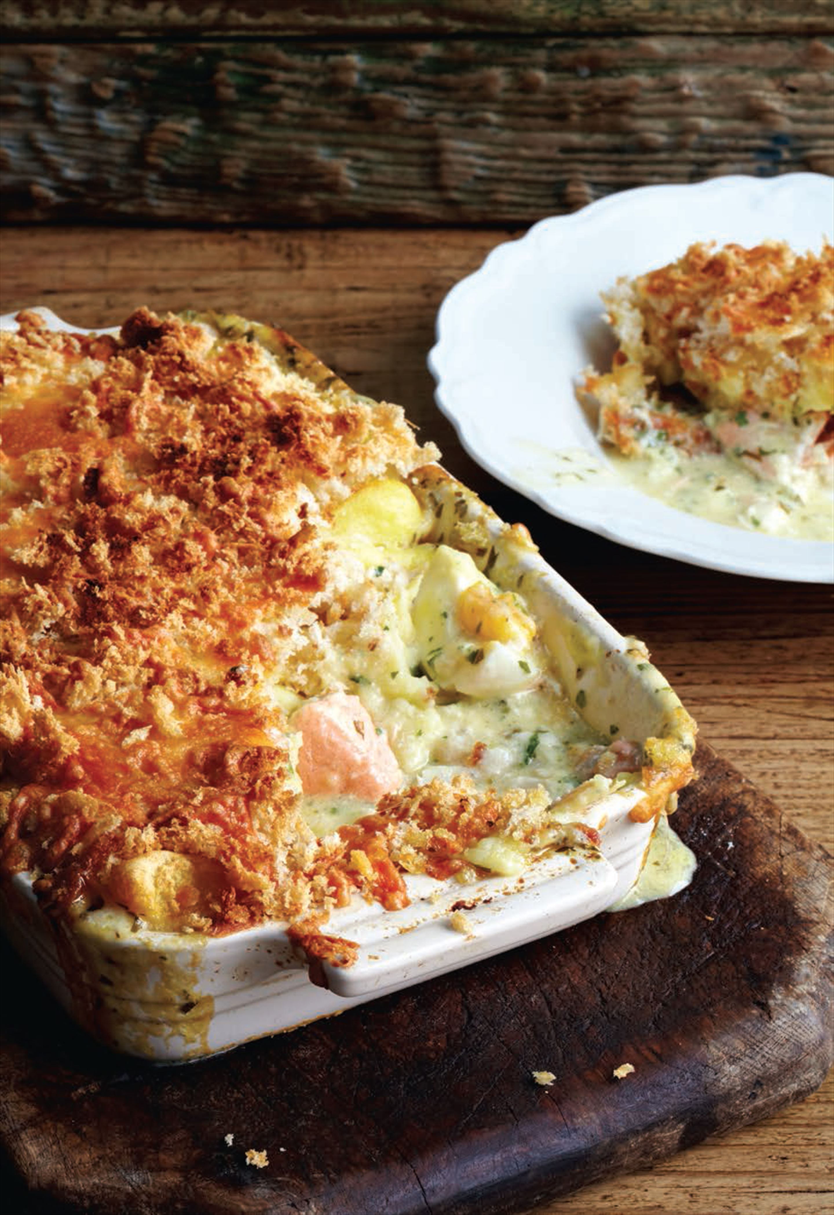 Mum's fish pie