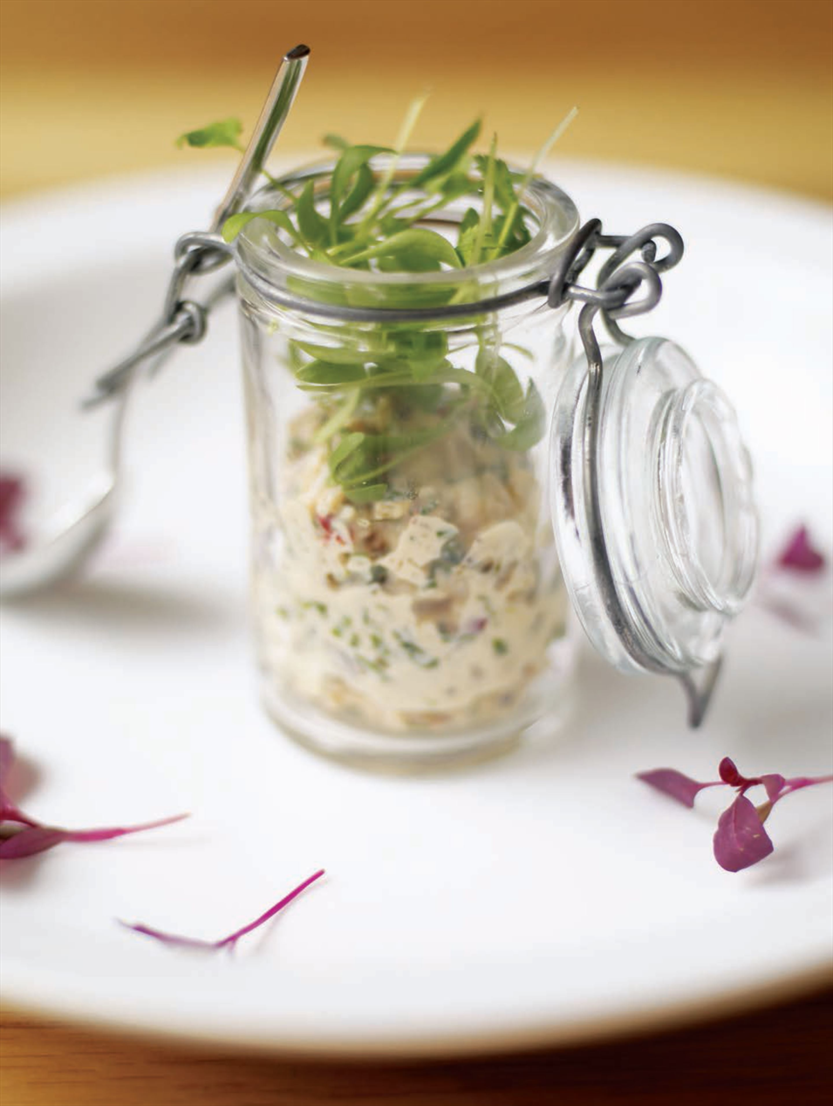 Lobster rillettes