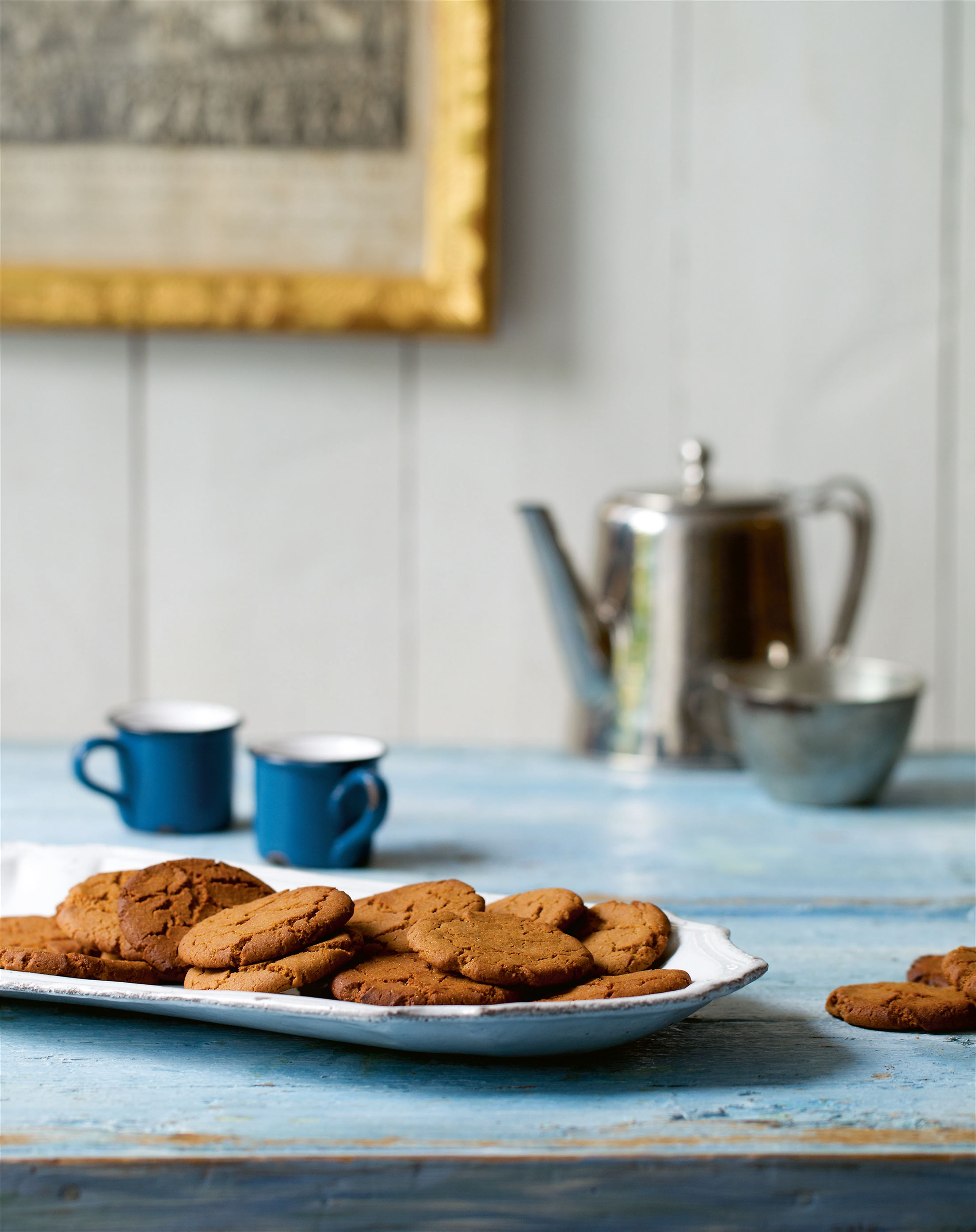 Coffee and cardamom biscuits