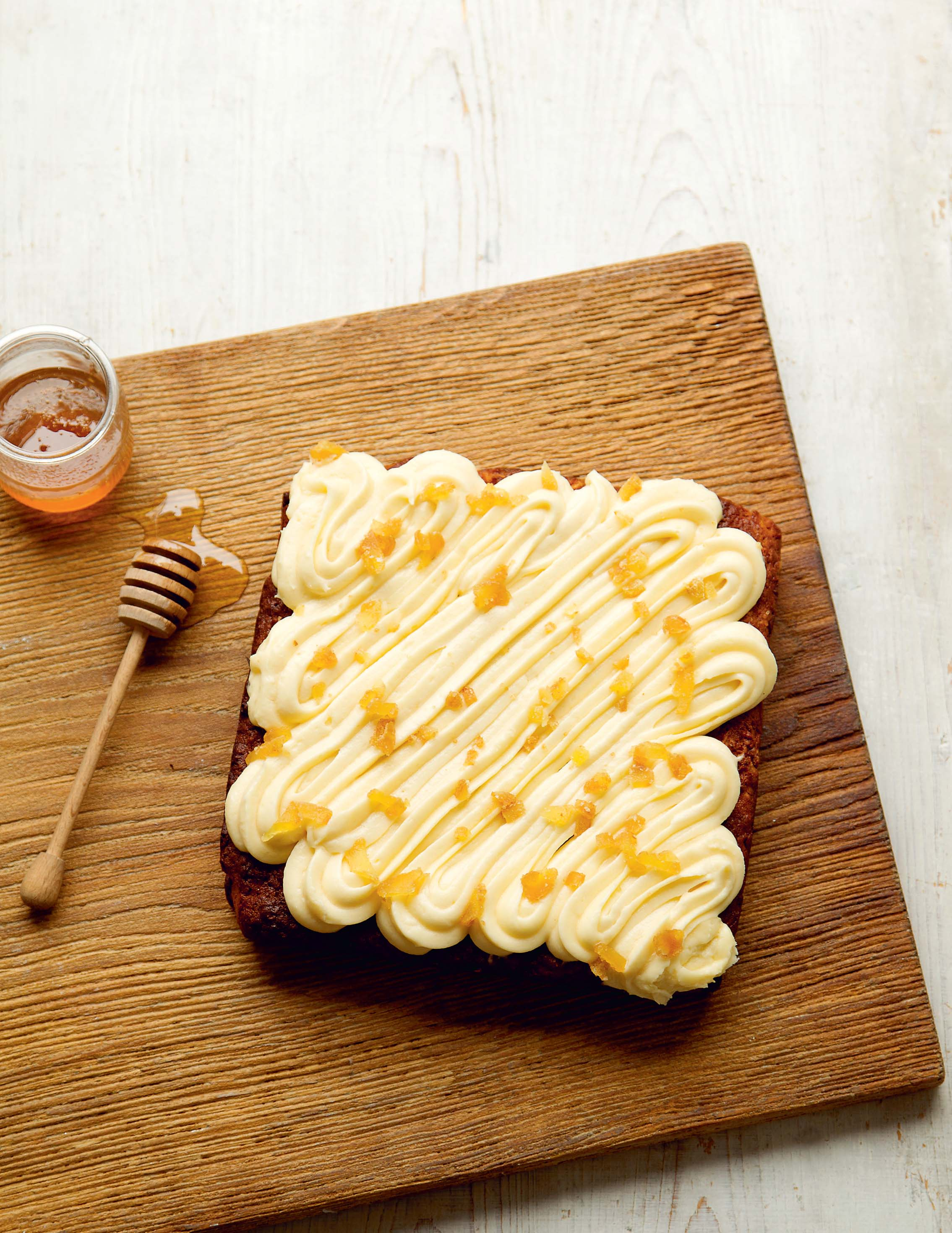 Parsnip and ginger traybake