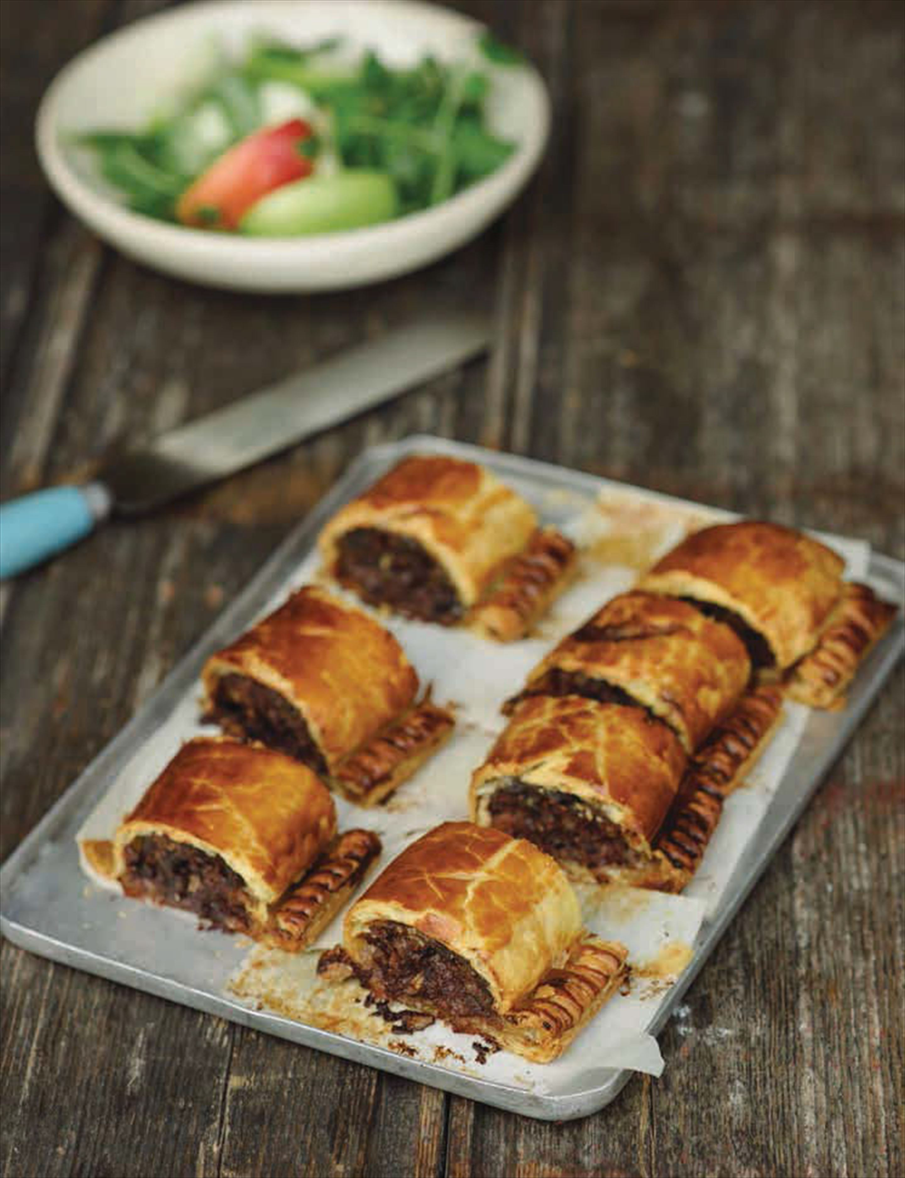Grouse sausage rolls