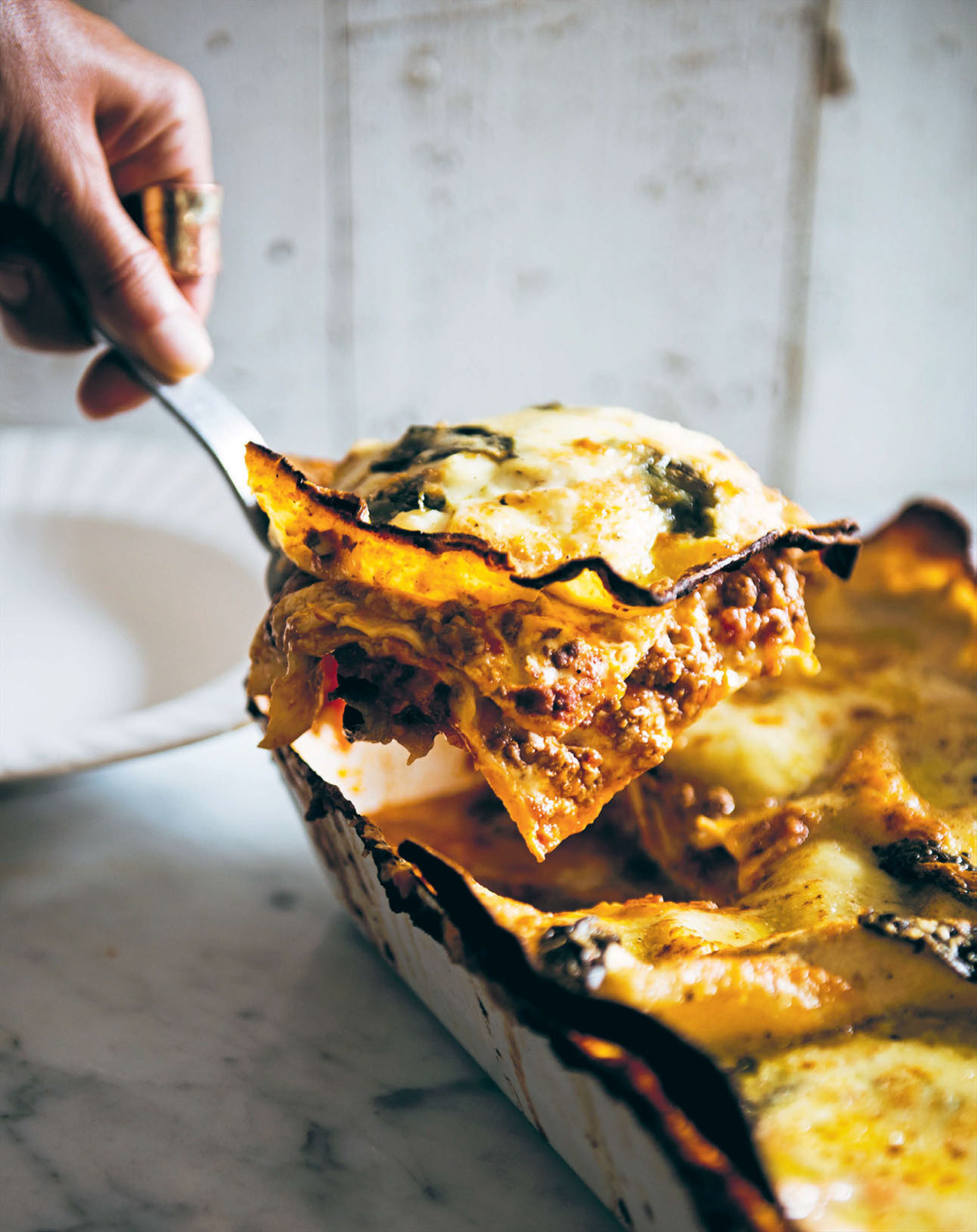 Pork & fennel lasagne