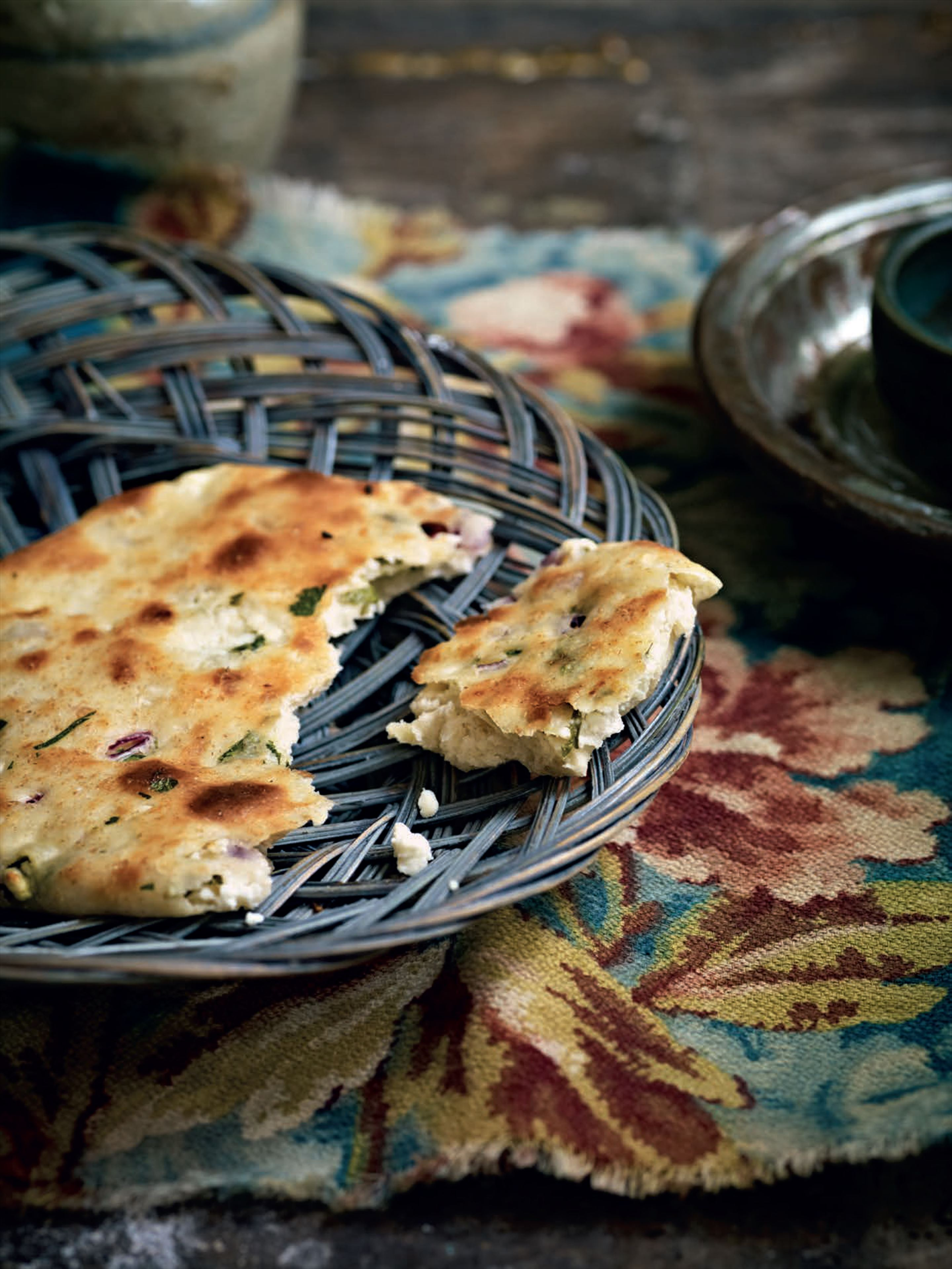 Best ever grilled naan